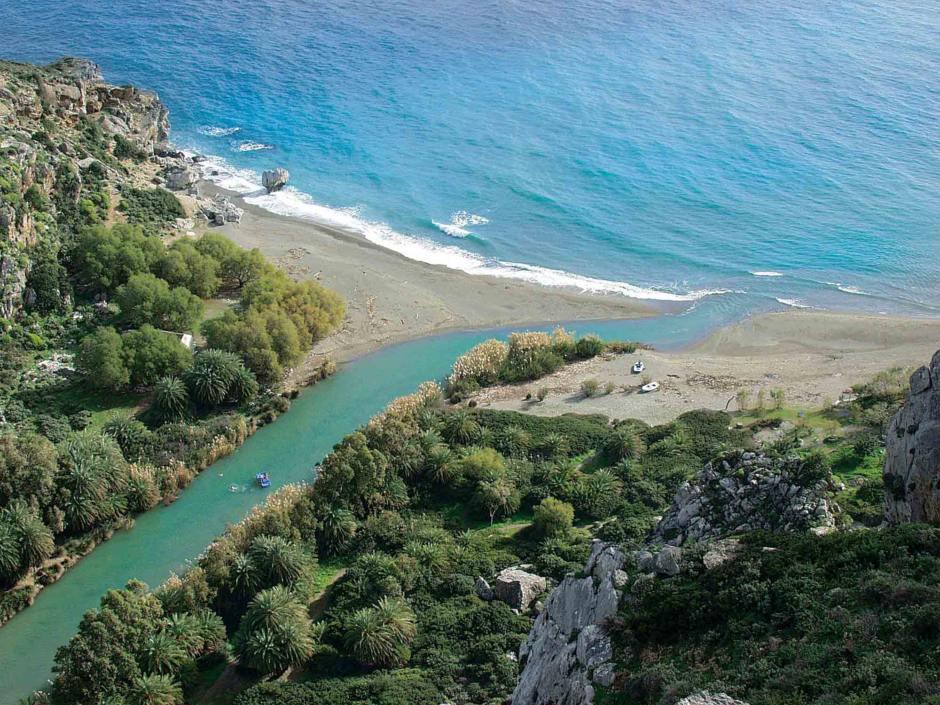 Top Beaches of South Rethymnon