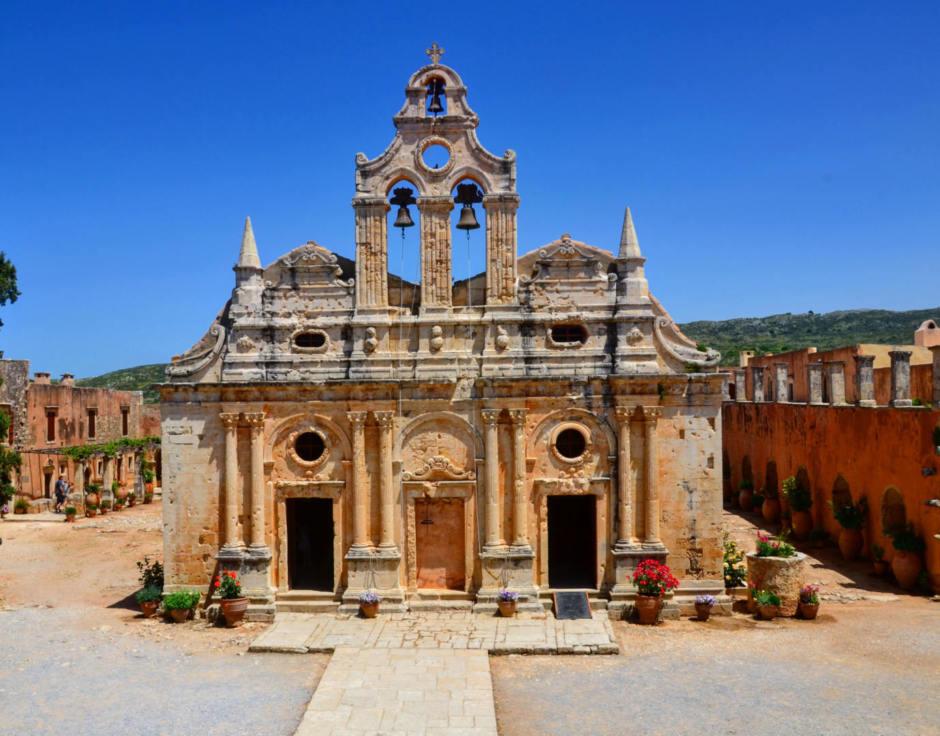 Rethymnon Day Trip: Arkadi Monastery and Eleftherna