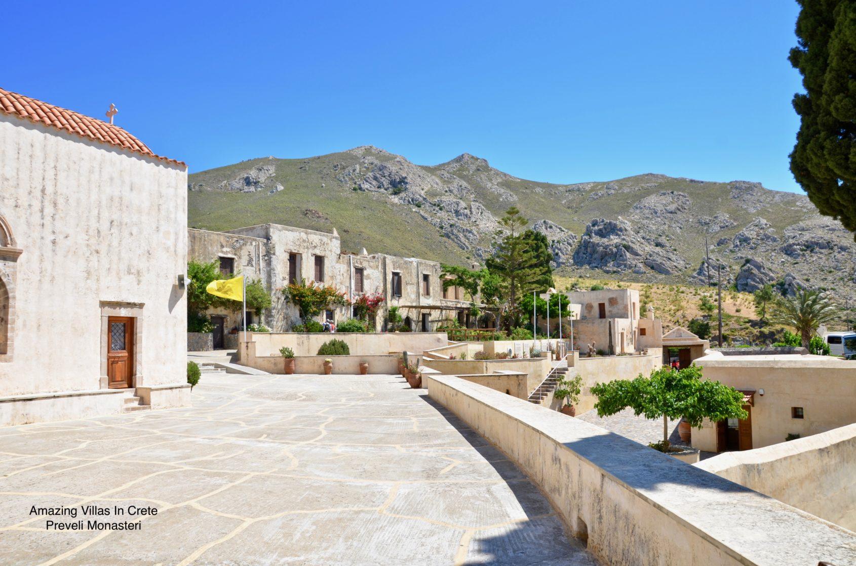 Preveli Monastery - Rethymnon Crete